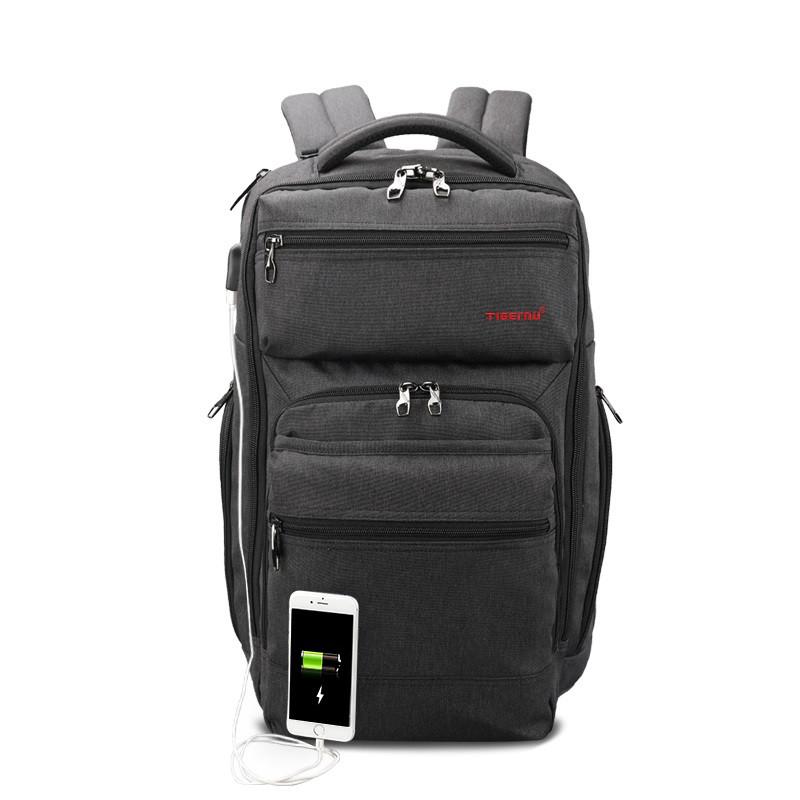 """Фирменный рюкзак для ноутбука 15,6"""" Тigernu T-B3242 черный"""