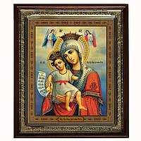 Достойно Есть (Милующая) икона Богородицы (бронза)