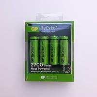Аккумуляторы GP Batteries ReCyko+ 2700 Series 270AAHCE AA HR6 Ni-MH 2600mAh 1.2V 4шт Double Blister