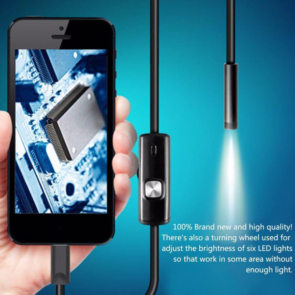 Водонепроницаемая мини-камера для съемок под водой-(инспекции).