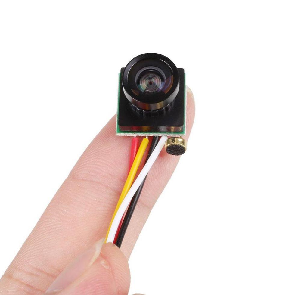 Мини камера-(Esddi)объектив на 120 градусов широкого формата 600TVL.
