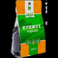 Кунжут черный, Natural green, 100 г
