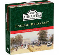 Ahmad tea English Breakfast Английский к завтраку чай черный в пакетах 100 шт