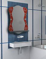 Зеркало для ванной комнаты 480х650 мм Ф332