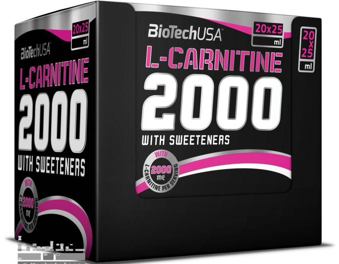 BioTech L-Carnitine 2000 20x25ml