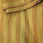 Гобилен горчичный отрез 5м цена отрез , ширина 150, для портьер и оббивки мебели , италия, шир полоски 3см, фото 2