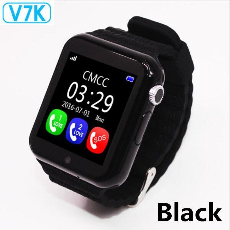Стильные детские умные часы V7K с GPS и камерой (Smart Watch)