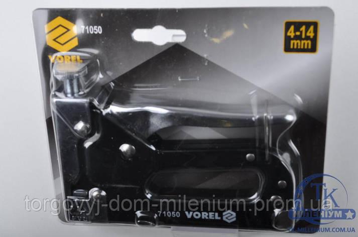 Степлер металлический для скоб h 4-14 mm 71050, фото 2