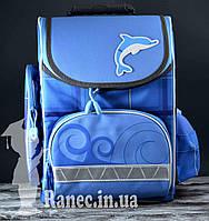 Рюкзак ортопедический Tiger 3701-4 дельфинчик
