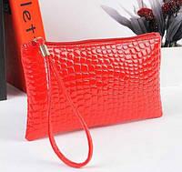 Клатч - портмоне женский красный
