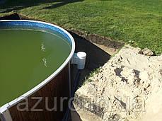 Каркасный бассейн морозоустойчивый овальный Azuro 405 DL 7,3 х 3,7 х 1,2, фото 3