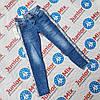 Подростковые джинсы для девочек с лампасами оптом Dream Girl