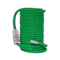 Шланг спиральный полиуретановый 10м 6.5×10мм Refine 7012171
