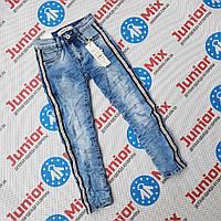 Подростковые джинсы с лампасами для  девочек оптом Dream Girl, фото 1