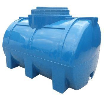 Бак, бочка, емкость 100 литров пищевая двухслойная горизонтальная RGД