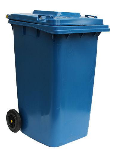 Контейнер для мусора 240 литров бак на колесах синий емкость Тип В 200 250 300