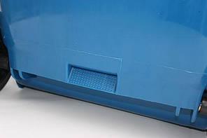 Контейнер для мусора 240 литров бак на колесах синий емкость Тип В 200 250 300, фото 3