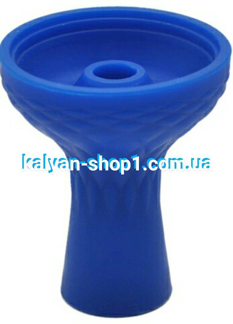 Силиконовая чаша Самсарис фанел цвет синий   под Kaloud Lotus калауд лотос