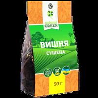 Вишня сушеная без косточки, Natural Green, 50 г