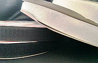6203 Липучка 3 см (белый/черный)