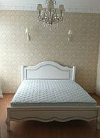 """Кровать из натурального дерева """"Бэлла"""" Voldi"""