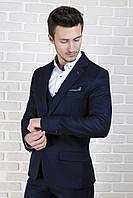 Пиджак мужской приталенный в стиле casual, фото 1