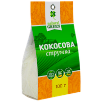 Кокосовая стружка, Natural Green, 100 г