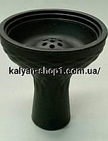 Силиконовая чаша 7 отверстий  для Кальяна  чёрная под Калауд Kaloud
