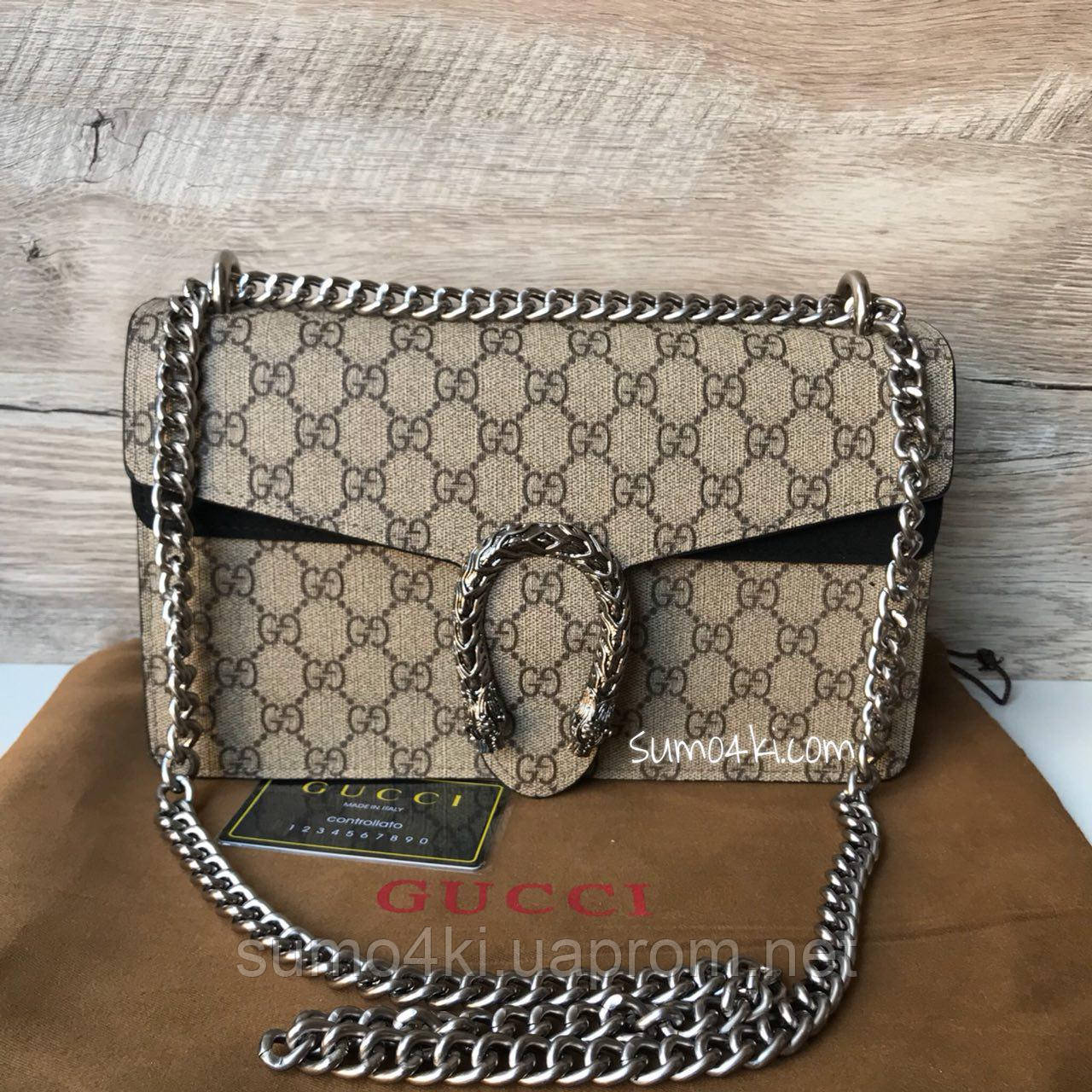 Женская сумка Gucci Dionysus Гуччи - Интернет-магазин «Галерея Сумок» в  Одессе 83a44bad4ef