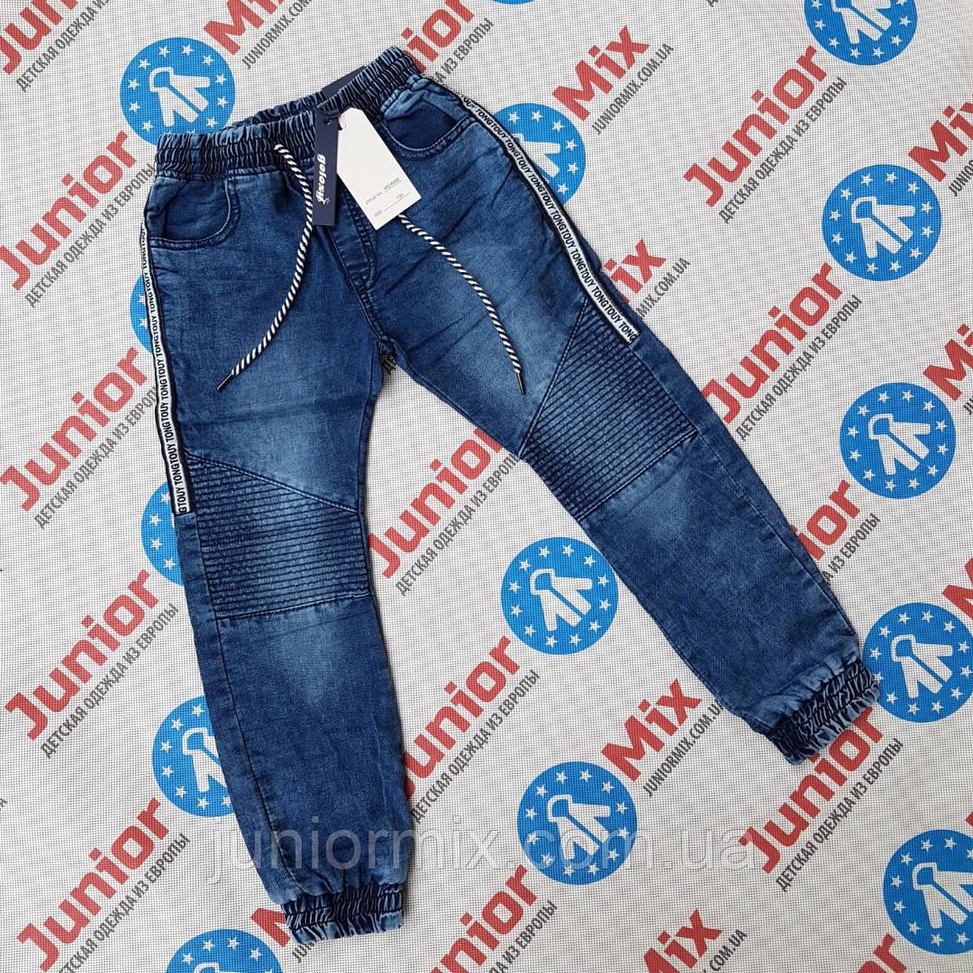 Подростковые джинсовые брюки джоггеры для мальчиков оптом Goloxy