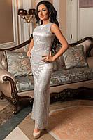 Уникальное платье с бисером
