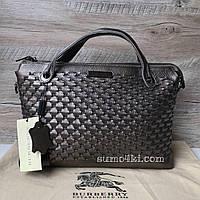 Женская кожаная сумка Burberry