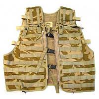 Разгрузочный жилет модульный, цвет DDPM (пустынный камуфляж армии Британии), оригинал, новый.