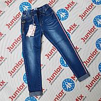Підліткові джинси з лампасами для дівчаток оптом F&D