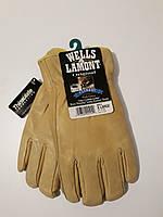 Утепленные кожаные мужские перчатки Wells lamont размер XL, фото 1