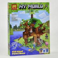 Конструктор LELE Minecraft Дом у реки 33125 (Аналог LEGO Minecraft) 443 дет.