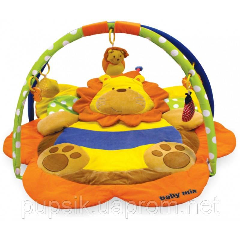 Развивающий коврик Baby Mix ТК/3134С Лев yellow