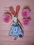 Крольчиха Тильда девочка игрушка, фото 3