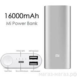 Power Bank 16000 mAh Xiaomi,Портативная зарядка, Повер банк