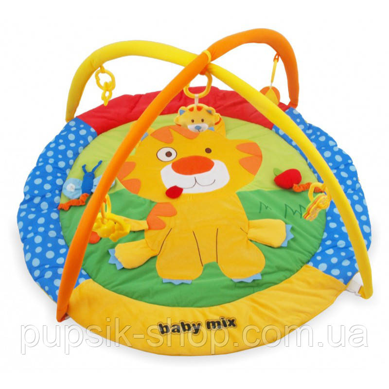 Развивающий коврик Baby Mix TK/3249С Тигренок yellow