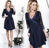 Платье короткое гипюровое с декольте в Украине. Сравнить цены ... 65dc11824e1a3
