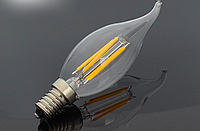 Диммируемая светодиодная лампа Filament 4Вт E14 LB-69 dimm CF37 4000K, фото 1