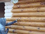 Шлифовка + покраска  деревянного дома Харьков, Киев, Одесса, Днепр, фото 3