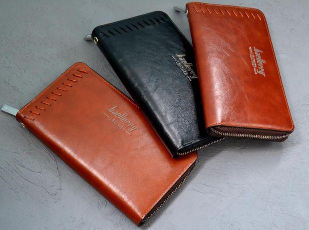 Кошелек Baellerry Leather Портмоне Мужской клатч