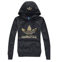 Толстовка женская Adidas grey серая