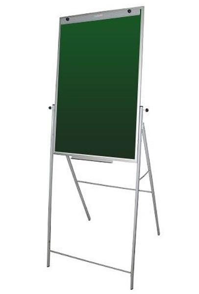 Флипчарт 65х100 см. под мел, магнитный на подставке UkrBoards