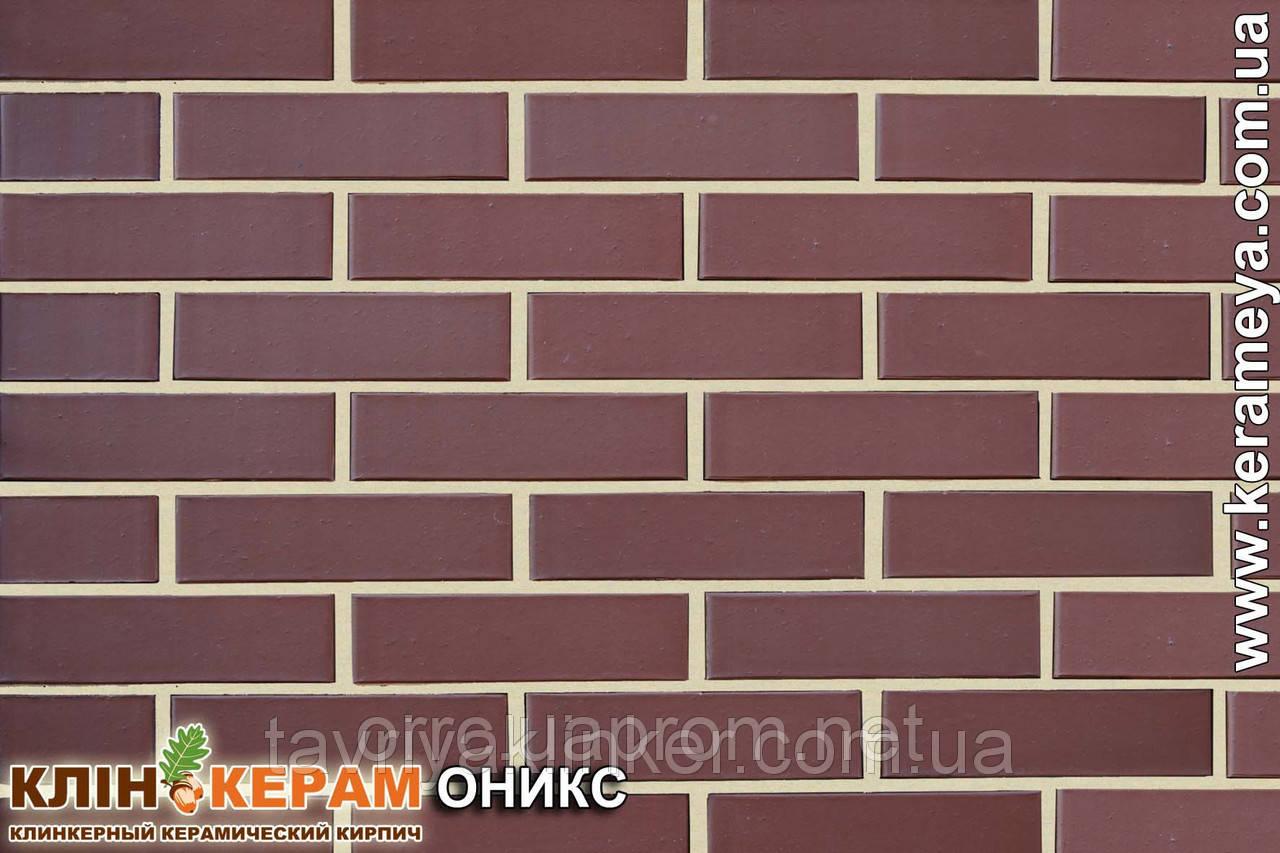 """Кирпич клинкерный """"Керамейя"""" """"Оникс"""" Пр 1 48%"""