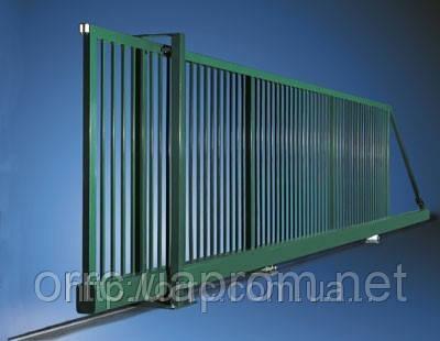 Ворота откатные без автоматики