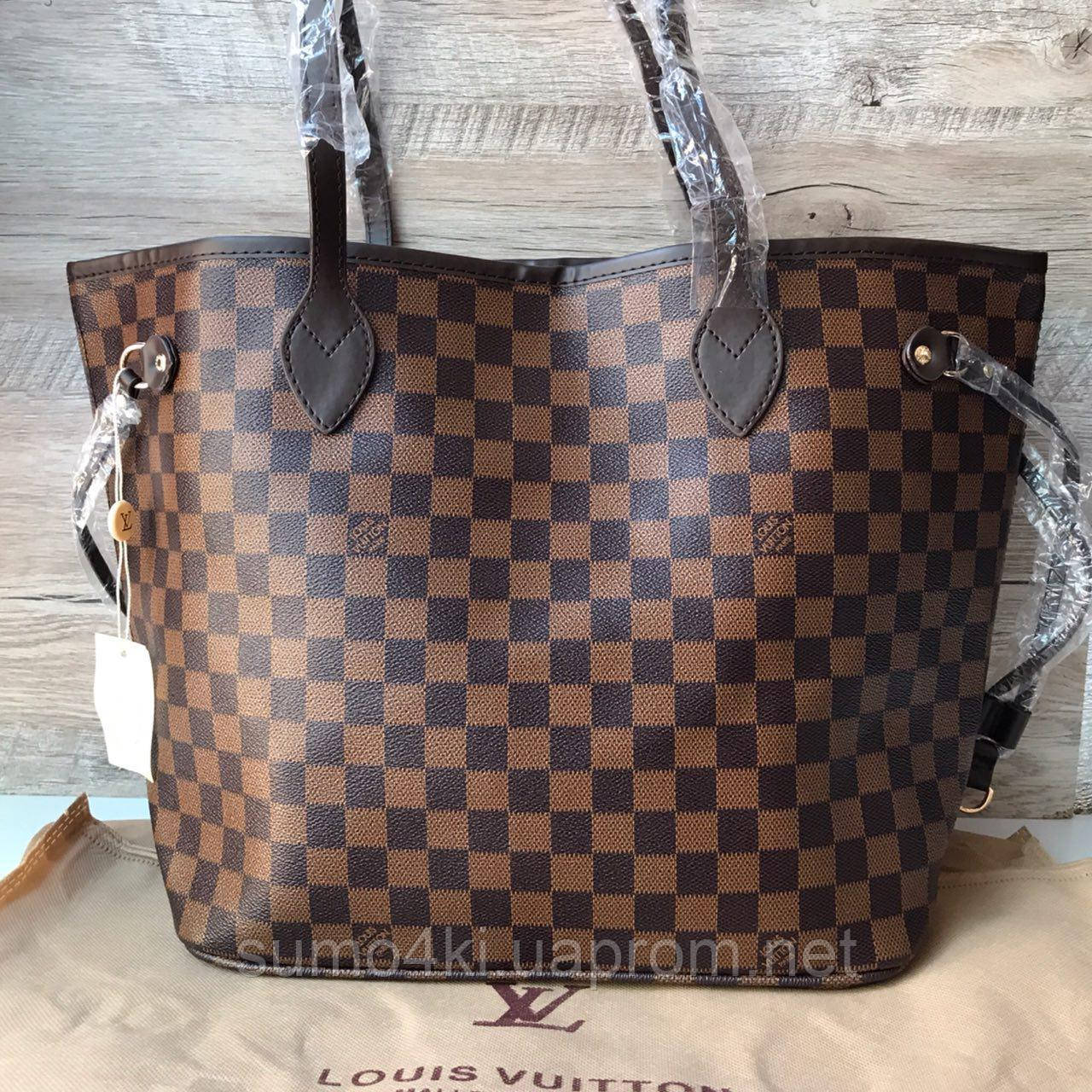 d4b727ac6f3e Женская сумка Louis Vuitton neverfull Луи Виттон неверфул -  Интернет-магазин «Галерея Сумок»