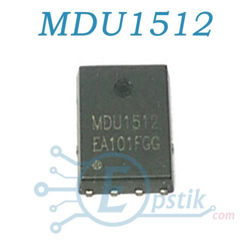 MDU1512, MOSFET транзистор N-канал, 30В 100А, QFN8
